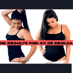 Kit 2 Bodys Modeladores